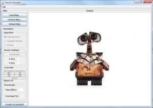Das GUI des Simulator
