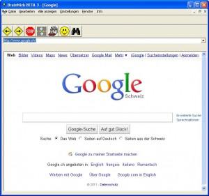 Integrierter Browser