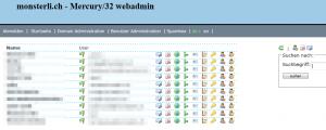 Administration der Benutzer einer Domain
