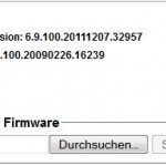 Firmware Upload