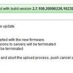 Firmware-Update starten